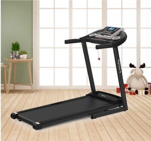 NEW Electric Foldable Treadmill w/ MPH Max Speed for Home & Gym Cardio Fitness.