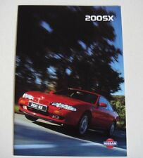 Nissan . 200SX . Nissan 200SX . September 1994 Sales Brochure