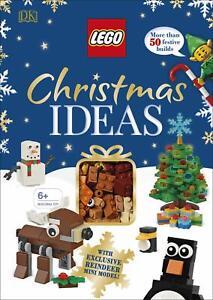 LEGO Christmas Ideas by Elizabeth Dowsett and DK Hardback NEW Book