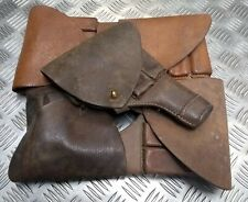 Genuine Vintage Army Issued World War 2 Pattern Browning Leather Pistol Holster