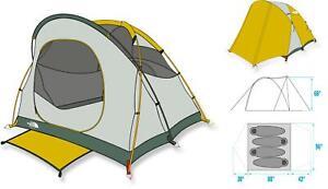 New The North Face Kaiju 4 Tent Dome 4 Person 3 Season $299