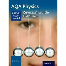 AQA A Level Physics Year 1 Revision Guide by Jim Breithaupt (Paperback, 2016)