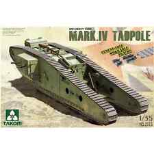 TKM2015 - TAKOM MODEL: 1/35; WWI Heavy Tank w/Rear Mortar Mark.IV Male Tadpole