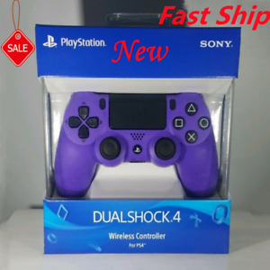 NEW -Sony DualShock 4 Wireless Controller For PS4 - Electric/Purple