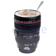 Hot 24-105MM LENS THERMOS CAMERA TRAVEL COFFEE TEA MUG CUP