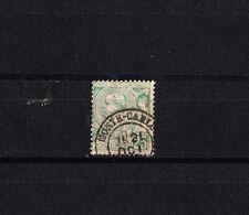 MONACO  prince  Abert 1er     25c   vert    num:  16   oblitéré
