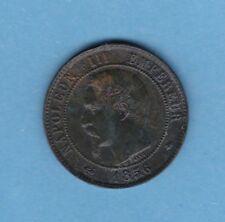 (BR.28) 10 CENTIMES NAPOLÉON III 1856 BB STRASBOURG (TTB-)