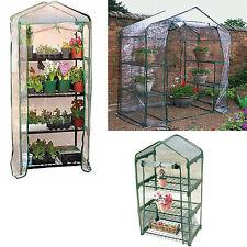 3, 4 Tier or Walkin Garden Greenhouse Grow Green House Outdoor Garden PVC Cover