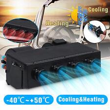 12/24V 4 Ports Universal Car Underdash Heater Air Conditioner Defroster Demister