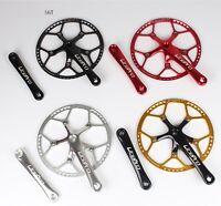 Folding MTB Road Bike 170mm Crankset BCD 130mm Chainring 45/47/53/56/58T