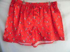 Shiny Red Unicorn Boxer Shorts Men'S Underwear Max Deco Elastic Waist Xl