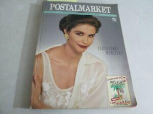 POSTAL MARKET  primavera estate 1991 ALESSANDRA MARTINES mancante di pagine