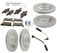 For Mercedes W216 W221 CL550 S550 Complete Brake Kit w/ Sensors OEM Genuine