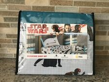 4 PC DISNEY STAR WARS SHEET SET - FULL SIZE - MICROFIBER - NEW