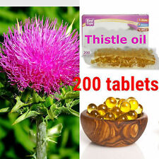 Milk THISTLE OIL 200 CAPS. 300mg. Liver protection