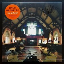 "Band of Skulls Signed ""by default"" LP Album Autographed by all 3 COA"