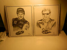 2 photos of Dale Adkins signed by Dale  Art    Sealed in Plastic   11 x 14