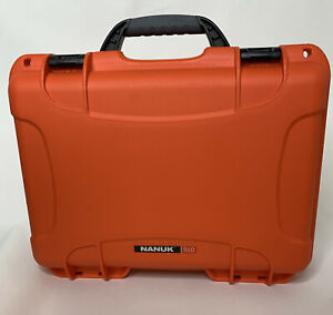 Nanuk 910 Waterproof Hard Case with Foam Insert - Orange