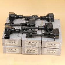 6Pcs Oem Ignition Coils 22448-8J115 22448-8J11C For Nissan Infiniti