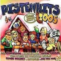 Pistenhits 2005 - 2 CD NEU - Antonia Notis Klaus Densow Gigi D'Agostino Cappella
