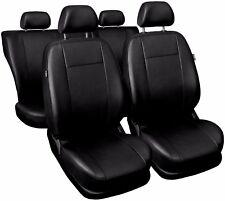 CAR SEAT COVERS full set fits Vauxhall Corsa Universal Leatherette Black