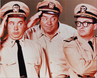 McHale's Navy cult 1960's TV series 8x10 photo Ernest Borgnine Tim Conway Jnr