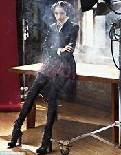 Recent ICONIC CHIC Alexander McQueen Black top kilt wool dress