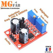 NE555 Module générateur d'impulsion Duty Cycle Réglable | ESP8266 Arduino PIC