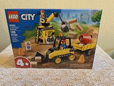 New Lego 60252 - City Construction Bulldozer- 4+ - 126 Pcs - Factory Sealed