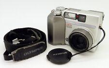 Olympus CAMEDIA C-3020 Zoom Digital Camera 3.2 Megapixel + Genuine Strap #4166