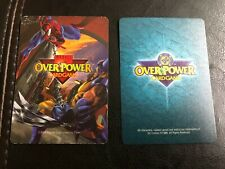 OverPower CCG Marvel DC Comics Card Lot Over 675 cards!!!!