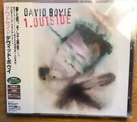 David Bowie – 1. Outside (The Nathan Adler Diaries: A Hyper Cycle) CD Japan