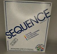 New Sequence Board Game by Jax Ltd. An Exciting Game of Strategy It's FUN Age7+