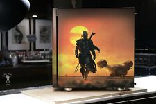 EXCLUSIVE - CUSTOM Airbrush Mandalorian Corsair Carbide 275R Mid-Tower Case