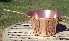 Ruffoni Copper 3-1/2 Qt. Polenta Pot/Pan w/Brass handles, Made in Italy