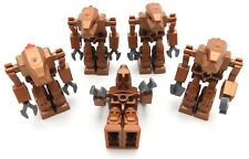 LEGO LOT OF 5 IRON DROID MINIFIGURES EXO-FORCE FIGURES