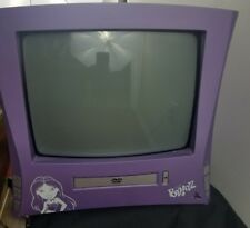 Funkadelic Bratz- inspired 13inch color TV with DVD Player with Remote!!