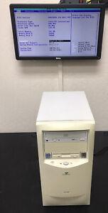 Gateway G6-400c Vintage Computer PC - Intel Celeron 400MHz 192MB RAM - Boots!