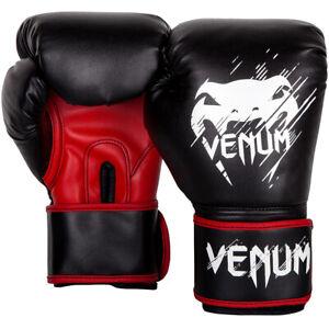 Venum Kids Contender Training Boxing Gloves - Black/Red