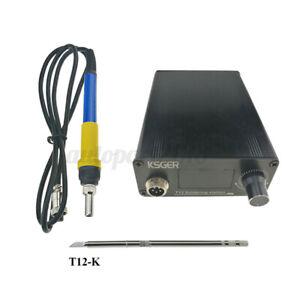 🔥 V2.1S T12 Soldering Station Electric Soldering Iron Tips T12-K+907 Handle