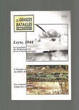 LES GRANDES BATAILLES DE L'HISTOIRE - LEYTE, 1944