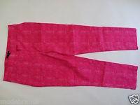 Stretch Hose H&M Chino Bügelfalte 7/8 Boyfriend 34 36 pink weiß wie NEU /S30