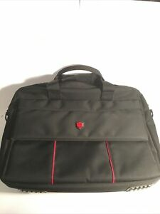 Pierre Cardin Official Black Laptop Bag Multiple Pockets. Great Condition