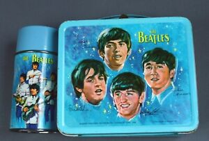 Beatles-Aladdin Metal Lunchbox & Thermos-1964