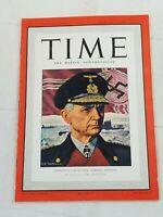 VINTAGE TIME MAGAZINE FEBRUARY 2 1942 DONALD NELSON PEARL HARBOR SINGAPORE