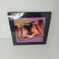 LED ZEPPELIN The Song Remains the Same In Concert and Beyond 2-disc Laserdisc