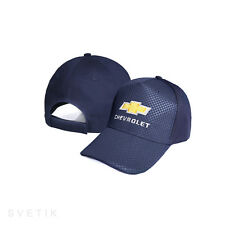 Chevrolet CARBON Navy Blue Baseball Cap Embroidered Auto Hat Gift Mens Womens