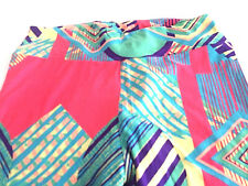 LuLaRoe Legging Tall Curvy Excellent Condition No Tags Bright Colors Geometric