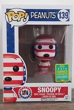 Peanuts Snoopy Rock The Vote SDCC 2016 Exclusive Pop! Vinyl Figure Funko #139