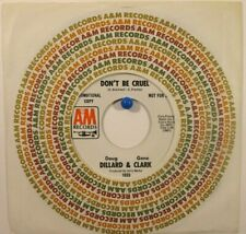 Doug Dillard & Gene Clark A&M 1033 Promo  Don't Be Cruel / Lyin' Down the Middle